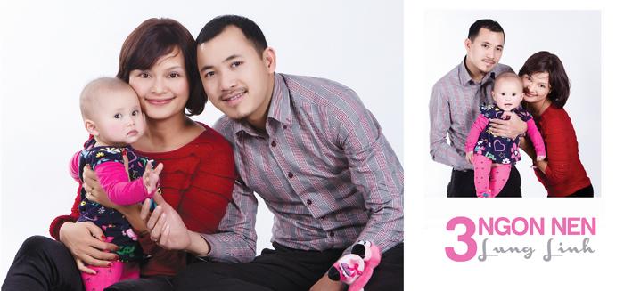 Hình gia đình đẹp - Ảnh gia đình đẹp chụp ở hà nội