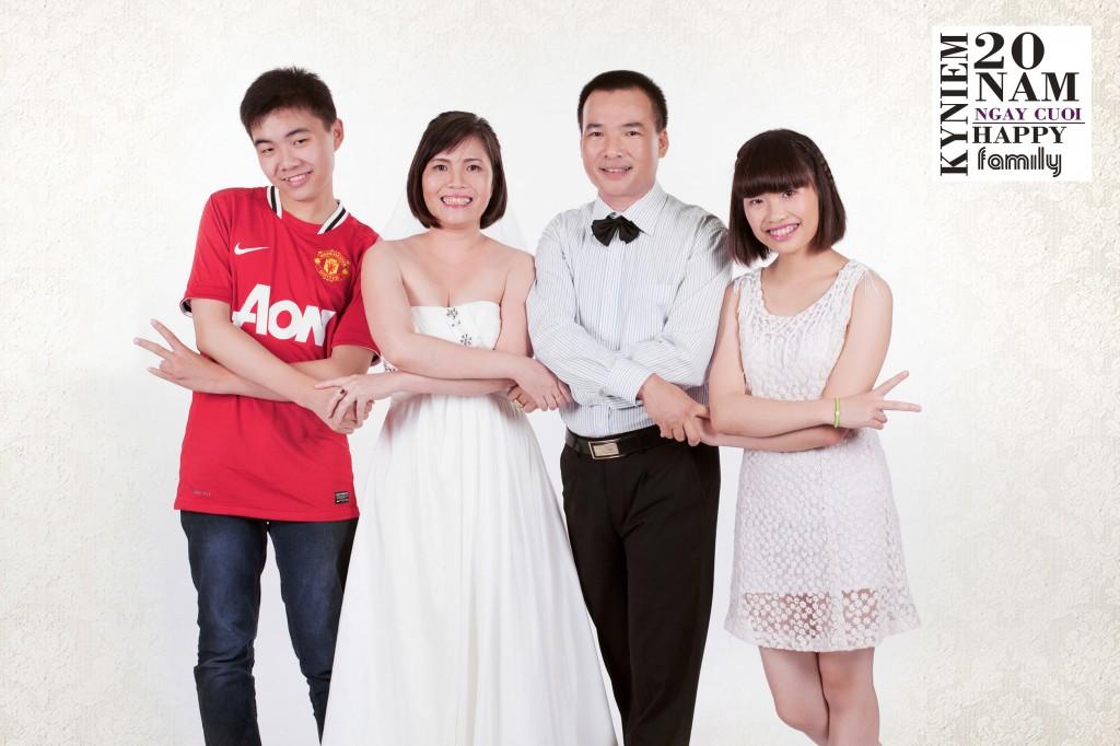 Chụp ảnh đẹp gia đình- chụp ảnh kỷ niệm ngày cưới ở hà nội