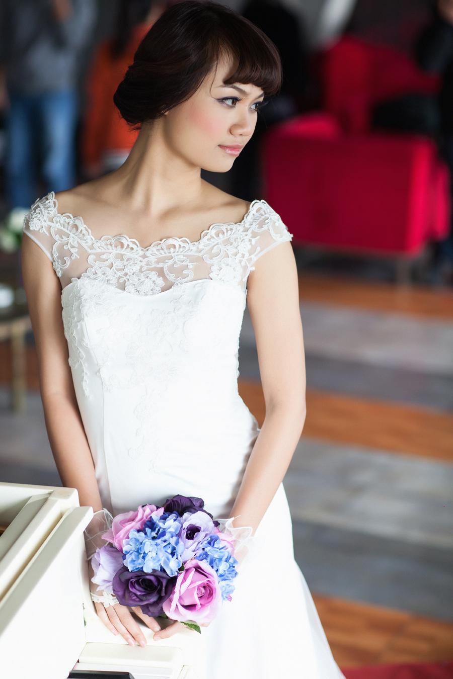 Mẫu áo cưới cô dâu đẹp