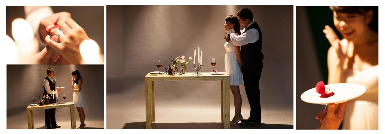 Chụp ảnh cưới-chụp ảnh cưới phong cách hàn với studio lavender