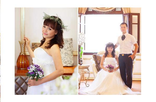 Chụp album cưới-chụp cưới kiểu lãng mạn phong cách hàn