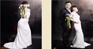 Chụp ảnh cưới Hàn Quốc trong studio và ngoài trời