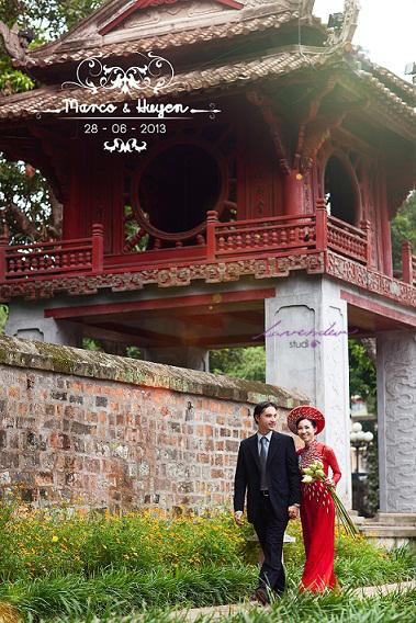 Chụp hình cưới-Những địa điểm chụp hình cưới đẹp tại hà nội