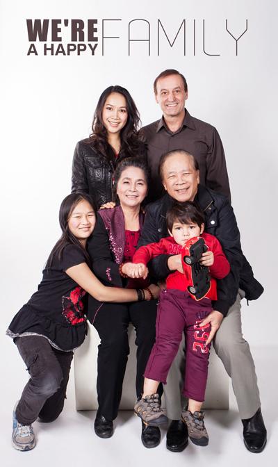 Studio chụp ảnh gia đình đẹp ở Hà Nội