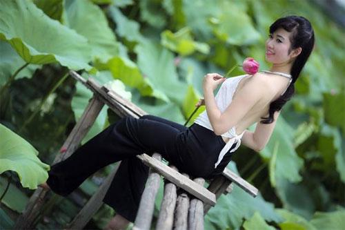 Chụp ảnh nghệ thuật ngoài trời đẹp tại Hà Nội