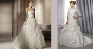Xu hướng váy cưới mùa Thu