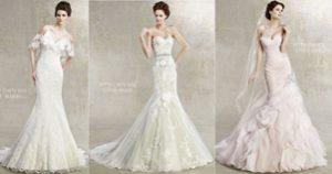 Top 10 váy đuôi cá tôn dáng cho cô dâu
