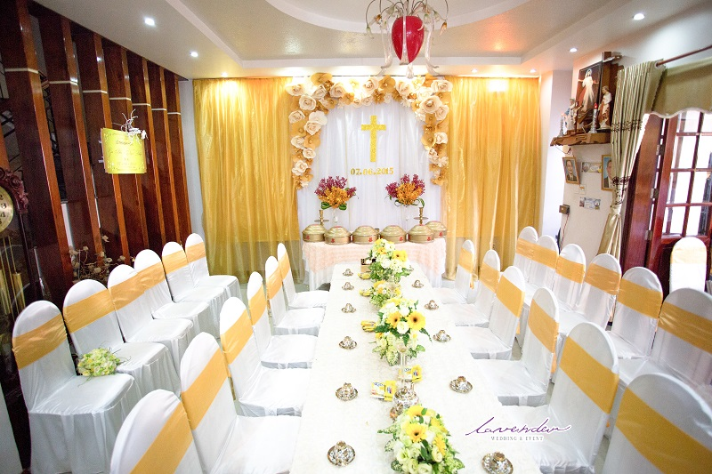 dịch vụ trang trí bàn thờ gia tiên ngày cưới