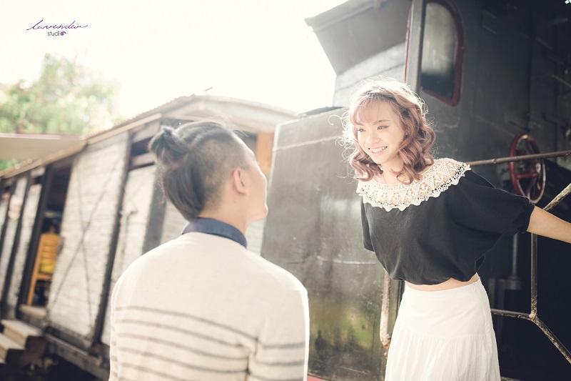 chụp hình cưới phong cách vintage tại đà lạt