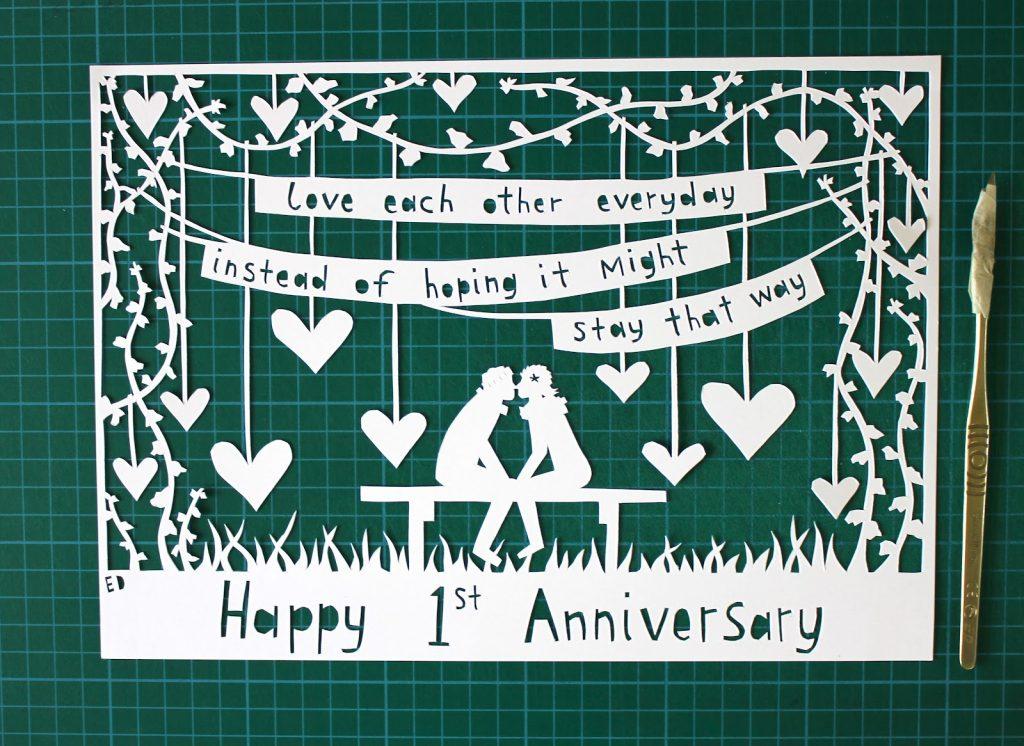 đám cưới giấy kỷ niệm 1 năm ngày cưới