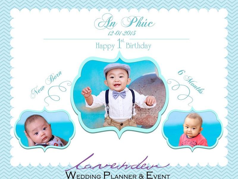 dịch vụ trang trí tiệc sinh nhật cho bé