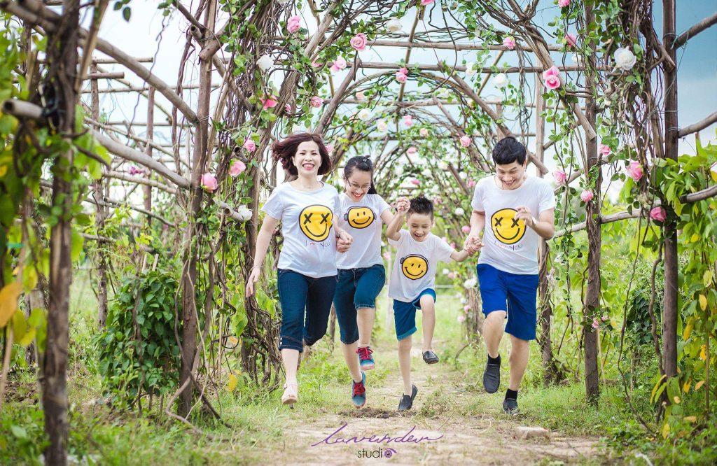 chụp hình gia đình ngoại cảnh ở tphcm