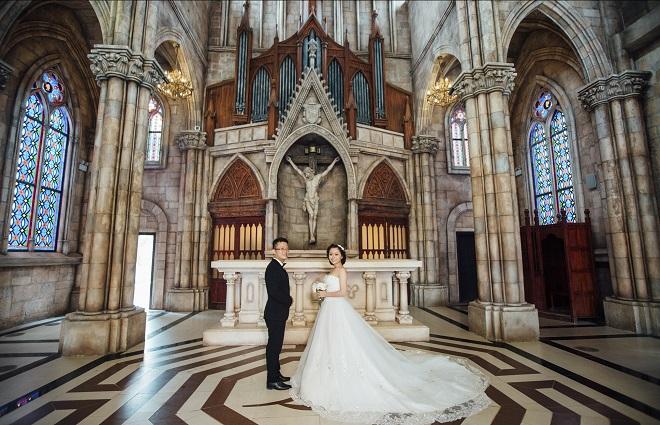 chụp hình cưới đẹp sg