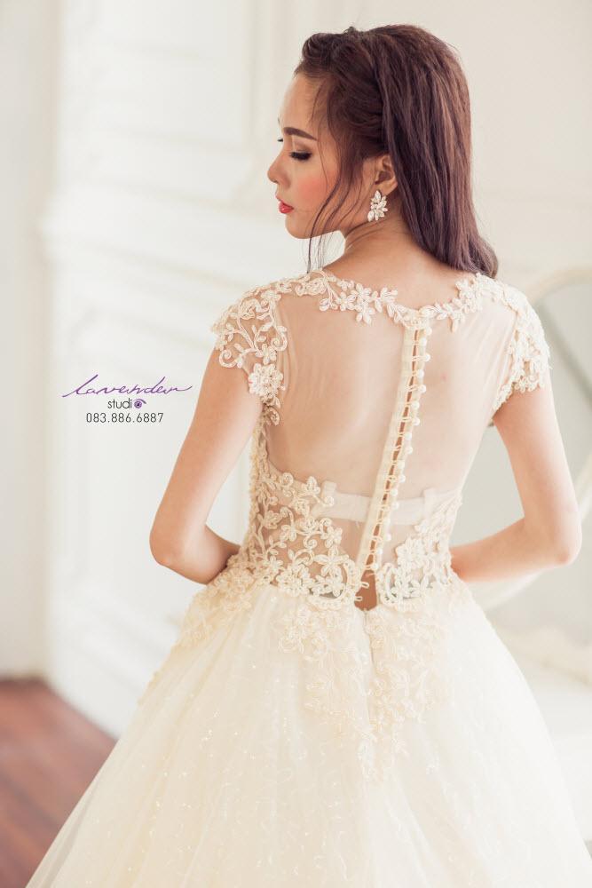 váy cưới ballet