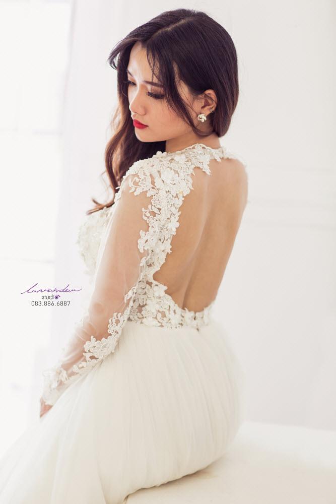 váy cưới phong cách ballet