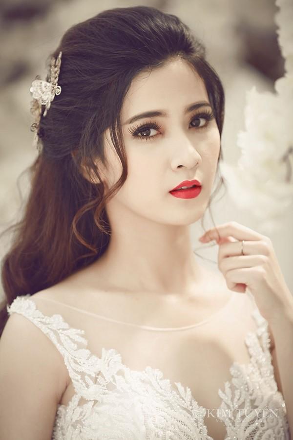 3 phong cách trang điểm cô dâu ngày cưới 1