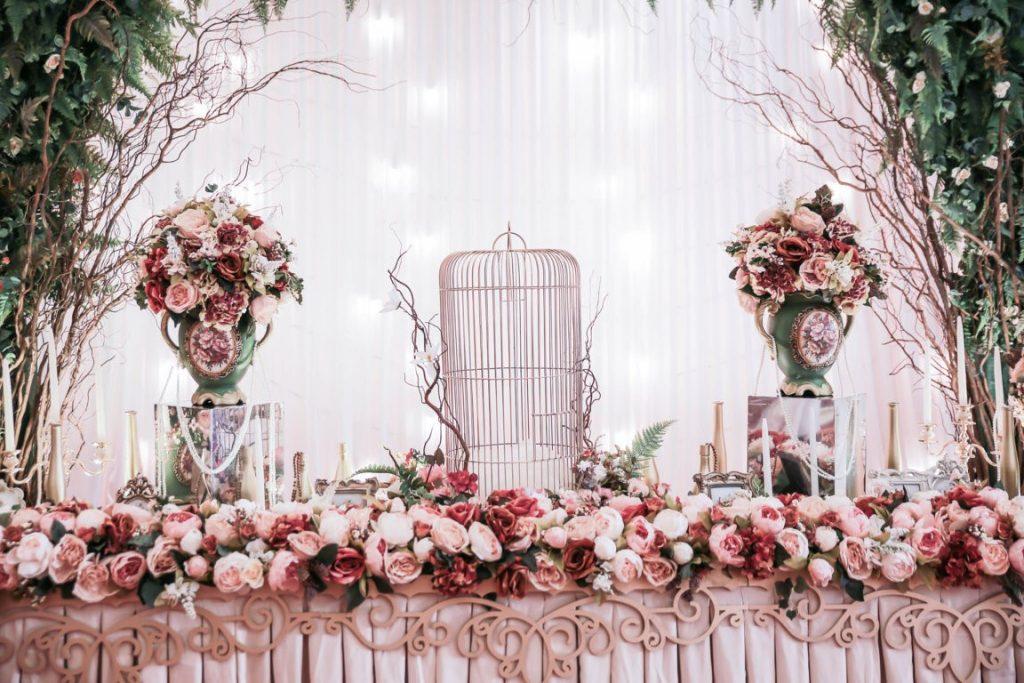 Trang trí tiệc cưới đẹp sang trọng 2