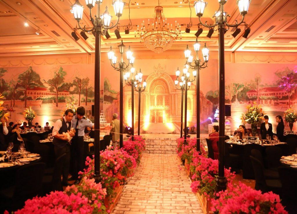 Trang trí tiệc cưới đẹp sang trọng 3