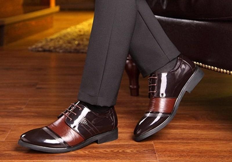 Những mẫu giày cưới nam đẹp nhất năm 2018