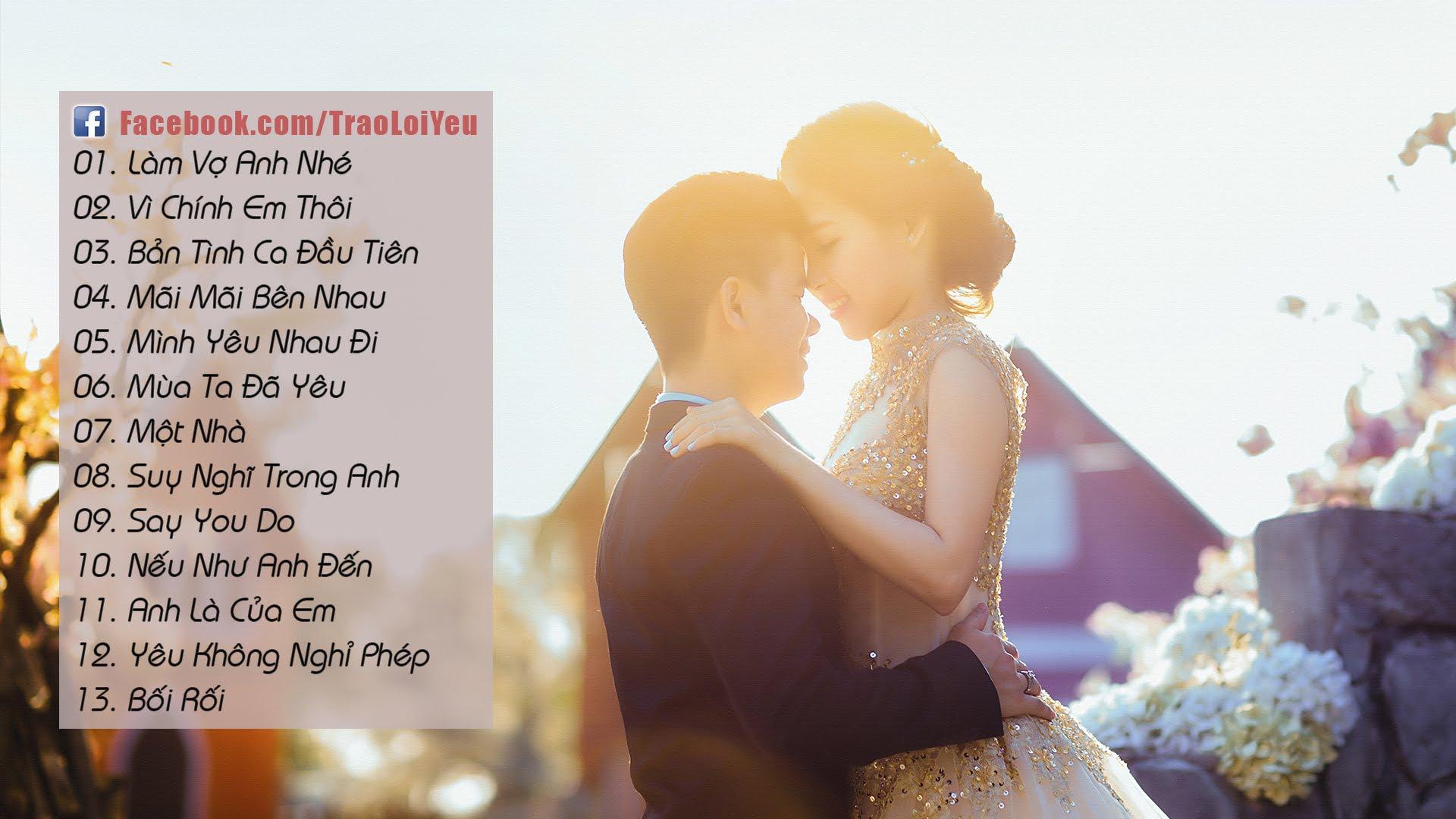 Những bản nhạc cưới 2018 lãng mạn