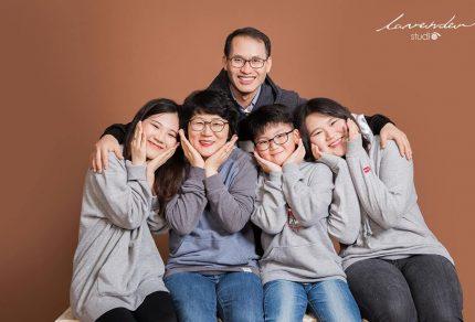 Các gói chụp hình gia đình đẹp tại Lavender đa dạng về mức giá