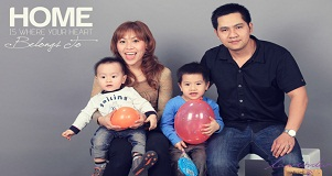 Chụp hình gia đình đẹp- hình gia đình đẹp